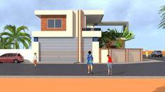 Projet de construction d'une VillaModerne a Ouaga-Burkina