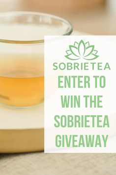 Learn more about the Sobrietea Giveaway where you can enter to win a 12 month supply of Sobrietea, the tea that supports your alcohol free journey. Learn more about the natural herbs inside Sobrietea and how it can help you curb the cravings and help you on your journey to a healthier lifestyle. Organic Lifestyle, Vegan Lifestyle, Organic Living, Natural Living, Health Tips, Health And Wellness, Enter To Win, Recipe For 4, Natural Herbs