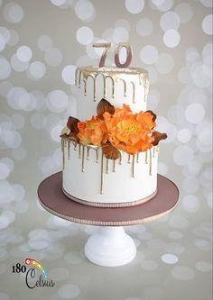 70 Years Loved 50th Birthday Cake