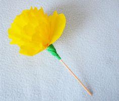 Takovýmto způsobem se dá vytvořit celá řada květů různých tvarů i velikostí.