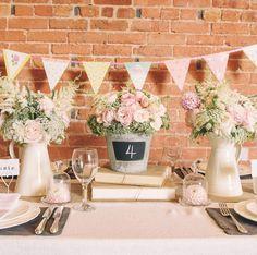 Blackboard Bucket Wedding Centrepiece - The Wedding of My Dreams