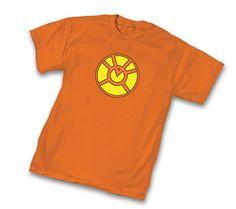 Green Lantern Orange Lantern Corps Symbol Orange Adult T-Shirt