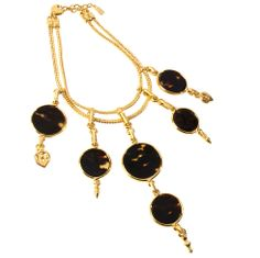 1stdibs - Yves Saint Laurent Tortoise Necklace explore items from 1,700 global dealers at 1stdibs.com