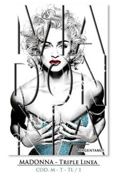 """Art SHOP"": Madonna - Typography - Triple Linea... ౿౿౿౿★"