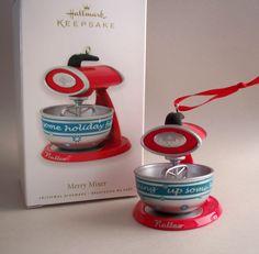Merry Mixer.  Hallmark Ornament, 2010.