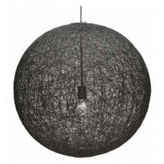 String 30 Single Bulb Pendant Light in Black by Nuevo - - TREOmodern Bulb Pendant Light, Pendant Lighting, Modern Pendant, Light, Modern Light Fixtures, Lighting, Bulb, Modern Pendant Light, Ceiling Lights