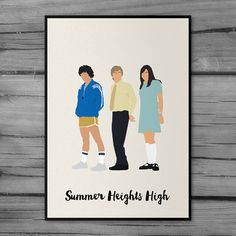 Summer Heights High 'Chris Lilley' Minimal Artwork