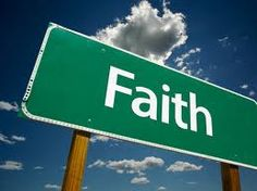"""""""Faith is being sure of what we hope for, and certain of what we do not see."""" Hebrews 11.1"""
