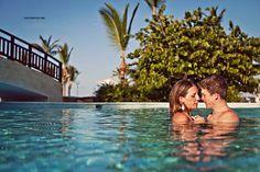 couples boudoir, sexy pool photos