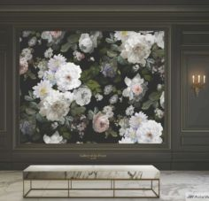 Floral Posters M701 Home Design Decor, House Design, Interior Design, Home Decor, Paper Factory, Wood Stone, Wallpaper, Peonies, Wallpapers