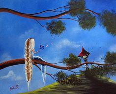 Original Fantasy Art by Shawna Erback by Shawna Erback