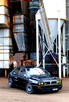 Lancia Delta HF Integrale.. perfect except the yellow headlights