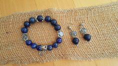 Handmade Bracelets, Beaded Bracelets, Lapis Lazuli Earrings, Elegant Chic, Graduation Gifts, Jewelry Sets, Special Occasion, Birthday Gifts, Quartz