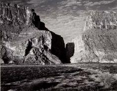 ansel adams (1902–1984) santa elena canyon, big bend national park, texas, 1947 (amon carter museum of american art).