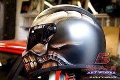 Blaze Artworks Custom Motorcycle Helmet 118