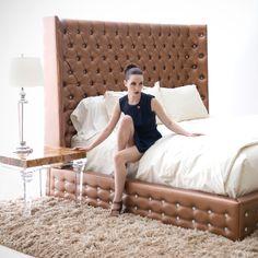 Sasha Bed by HStudio www.hstudio.com