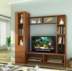 ACURA WALL UNIT OAK  Large Wall unit this does not take too much space.