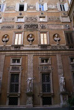 Rome, Via Caetani, Palazzo Mattei di Giove.