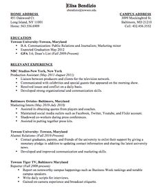 Resume Examples For College Students With No Work Experience Adorable Phd Resume  Resume Samples  Pinterest