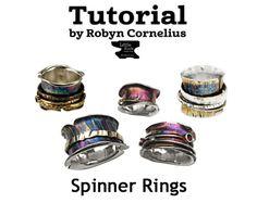 Spinner Ring Tutorial, Robyn Cornelius, Little Rock Jewellery studio, Updated March 2016!