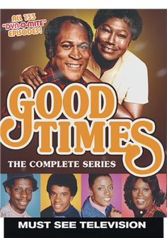 Good Times - Complete Series (11-DVD) (2015) - Television on Starring John Amos, Esther Rolle, Jimmie Walker, Ralph Carter, BerNadette Stanis & Ja'net DuBois; Mill Creek Ent $30.98 on OLDIES.com