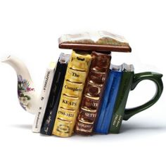 Tea Pot, great for writers and readers, which is often the same thing!