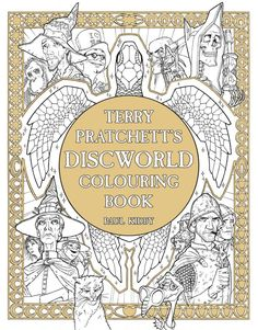 Terry Pratchett's Discworld Colouring Book by Paul Kidby is a voyage into a…