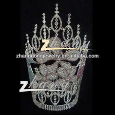 beauty pageant crown brooch | Newest beauty design rhinestone pageant crown, View pageant crown, ZG ...