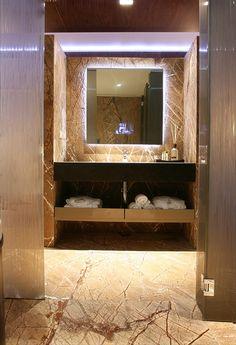 PORTFOLIO STUDIO SIMONETTI: bathroom project@Vienna, credits Roberto Leone #bathroom #studiosimonetti #hoteldesigner #progettisti #design