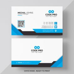 White business card with red and black details PSD file Make Business Cards, Professional Business Card Design, Printable Business Cards, Free Business Card Templates, Elegant Business Cards, Creative Business, Business Logo Creator, Corporate Business, Logo Nasa