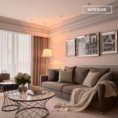 Living Area, Living Room, Homemaking, Oversized Mirror, Sweet Home, House Design, Couch, Curtains, Doors