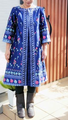 Free tunic to download, via Kokko Fabric. PDF download.