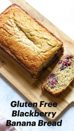 Healthy Bread Recipes, Gluten Free Recipes For Breakfast, Gluten Free Desserts, Dairy Free Recipes, Free Breakfast, Healthy Baking, Breakfast Ideas, Healthy Foods, Cake Recipes