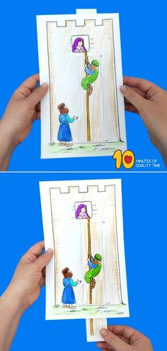 Rahab and the Spies Craft Sunday School Crafts For Kids, Sunday School Classroom, Bible School Crafts, Sunday School Activities, Preschool Bible, Sunday School Lessons, Preschool Crafts, Ramadan Activities, Bible Activities