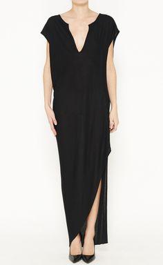 Welcome to my closet! #happygirl  Thakoon Black Dress | VAUNTE