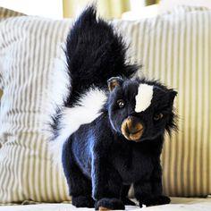 Hansa Skunk | Realistic Stuffed Skunk | Plush Hansa Skunk| Hansa Animals