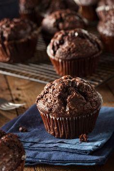 Homemade Dark Chocolate Muffins by Brent Hofacker on 500px