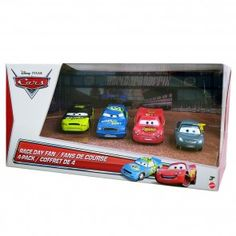 Disney Cars - Race day fans 4 pack