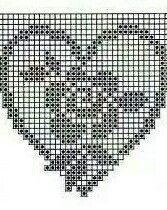 How to a Beautiful Rose Flower in Filet Crochet: Filet Crochet Rose Chart Filet Crochet Charts, Crochet Borders, Crochet Diagram, Crochet Squares, Crochet Motif, Crochet Doilies, Crochet Flowers, Crochet Stitches, Thread Crochet