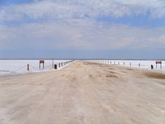 The Great Salt Lake is in Northern OK in the Red Bed Plains.  It is A shallow salt lake where you can dig for selenite crystals (the only place in the world you can).