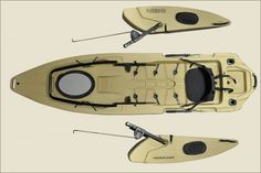 Fishing kayak. I might want this, if it's not to expensive.