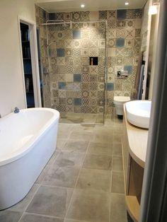 Bathroom Layout, Kid Styles, Corner Bathtub, Home Renovation, My House, Design, Home Decor, Bathrooms, Architecture