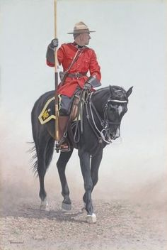 RCMP Rider Brent Townsend - 140 anniversary of the Northwest Mounted Police (now Royal Canadian Mounted Police) Roi George, Canadian History, Canada Day, Le Far West, Oui Oui, Canada Travel, Limited Edition Prints, Historical Photos, Vintage Posters