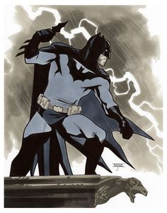 Batman III - LSCC 2015 Pre-Show Commission by Mahmud Asrar