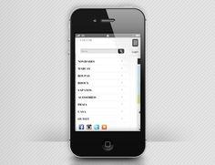 OQVESTIR | quadraCriativa  Site mobile menu