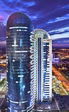 Astana, Kazakhstan by Timur Ayupov