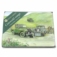 Sue Podbery Set of 6 Placemats - Land Rover