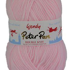 Peter pan lustre dk baby knitting yarn 100G en deux tons