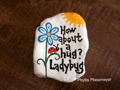 Best painted rock art ideas with quotes you can do (60)