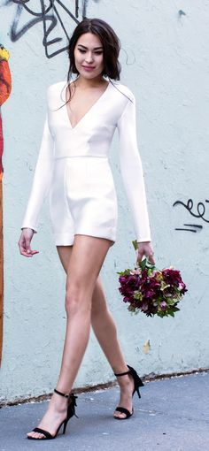 15 Wedding Dresses Perfect for an Elopement | TheKnot.com